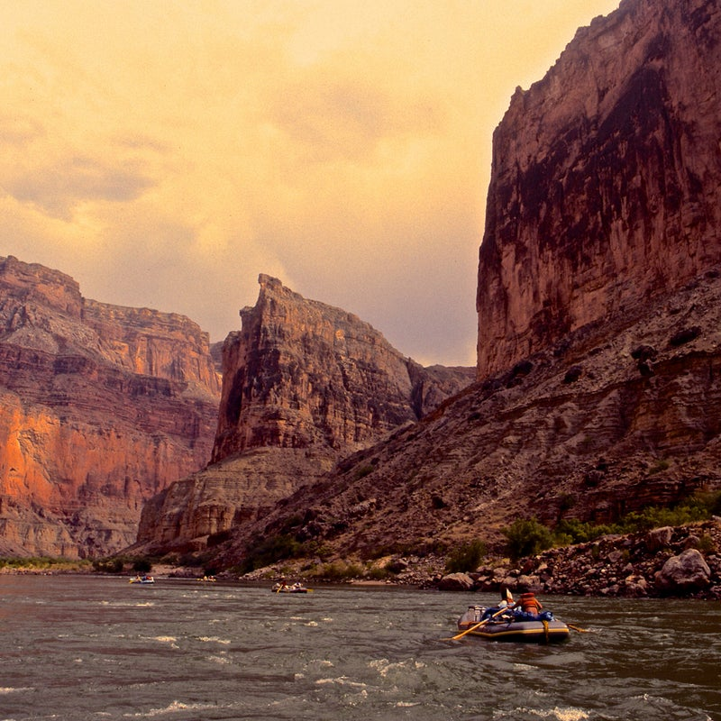 Threat: Harmful development, groundwater depletion, uranium mines  At risk: An irreplaceable natural and cultural treasure  Photo: Millions of Americans recognize the Grand Canyon as one of the most iconic landscapes on the planet. But this natural masterpiece of the Colorado River faces a battery of threats. A proposed tram development in the heart of the canyon, uranium mining, and a proposed expansion of the town of Tusayan that could deplete vital groundwater supplies. Unless the Department of the Interior acts to stop these threats, one of our nation's greatest natural treasures will be scarred forever.