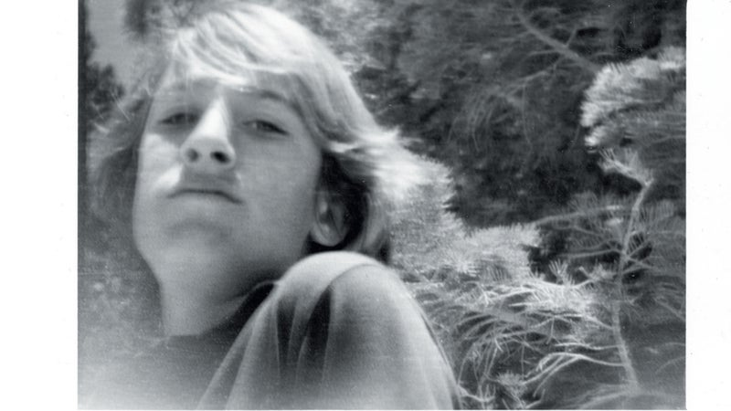 A photo of Joe as a boy. Joe began fly-fishing and bird hunting when he was just 8 years old.