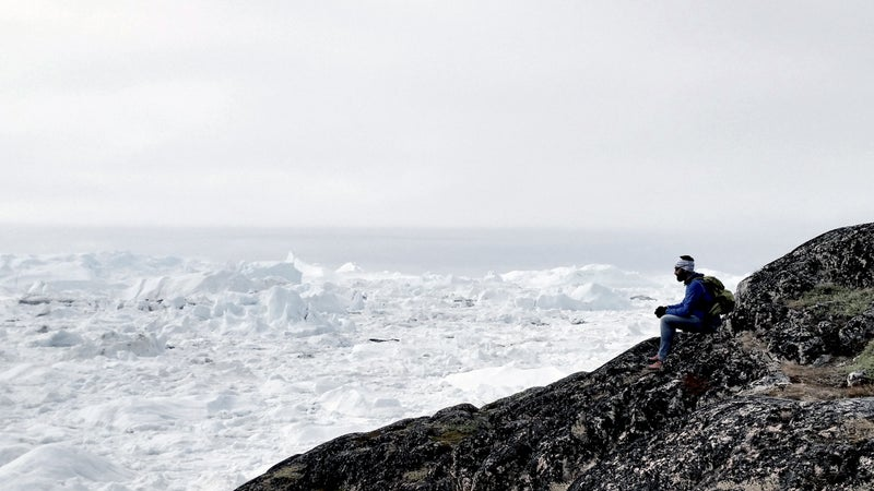 Sometime next winter, Alex Bellini plans to travel to Greenland's west coast, pick an iceberg, and live on it for a year as it melts out in the Atlantic.