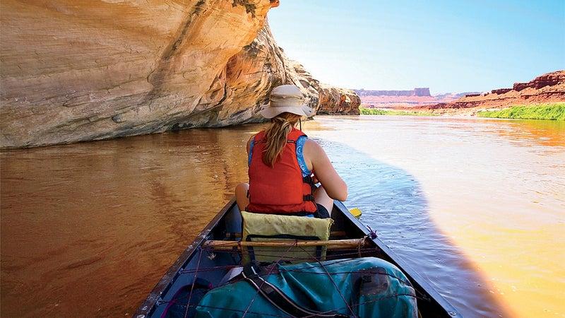 Canoeing Canyonlands.