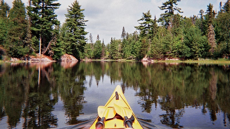 Kayaking Voyageurs.