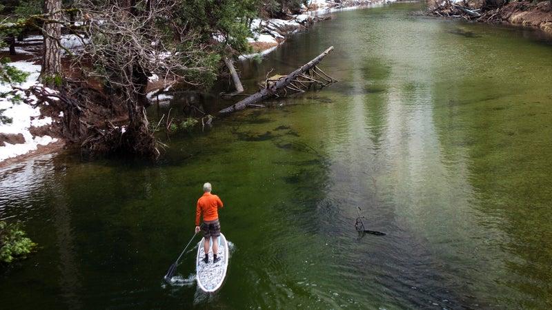 Merced River SUP.