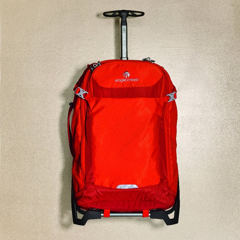 You can wear this transformer ($260) as a bona fide backpack that's as comfortable as any overnighter in your closet. Or, with five minutes of assembly, strap it onto an aluminum frame to make it a carryonsize roller. You'd never know this 43-liters bag wasn't built that way to begin with. eaglecreek.com