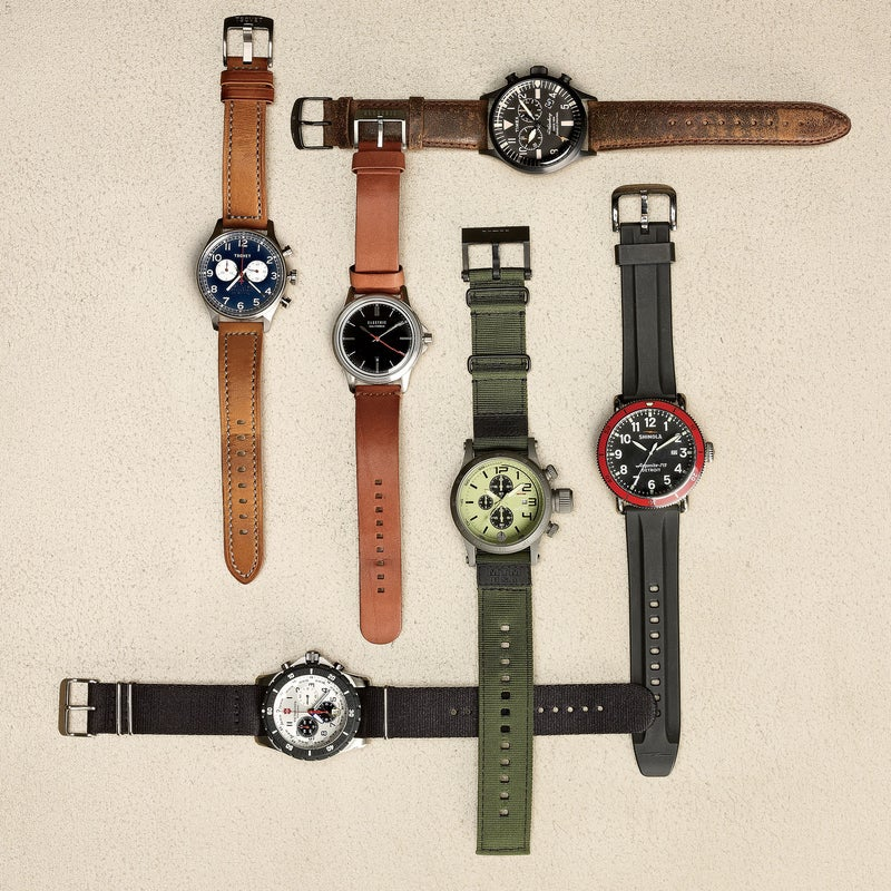 Stylish timepieces to keep track of your daily explorations.—Will Palmer