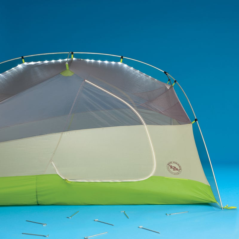 Boasting all the user-friendly features we look for in a lightweight backpacking tent—easy color-coded setup, roomy vestibules, and convenient storage pockets—the Rattlesnake was a tester favorite right off the bat. Read the full Gear of the Year review here. Livability: 5 Sturdiness: 4