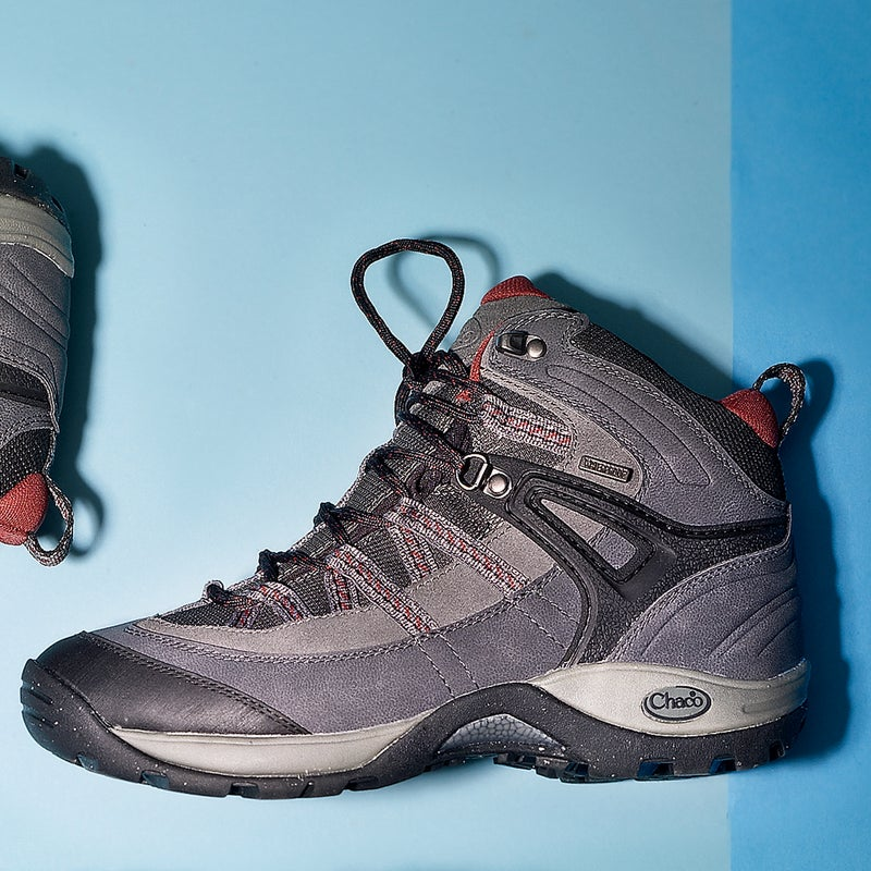 """Best For: Sandal lovers. The Test: The Holbuck ($150) is a Chaco reimagined as a hiking boot. It has the same comfy footbed—great arch support, blister-free heel cup, and solid, protective midsole—but adds reinforcement at the toe and ankle. Testers raved about how comfortable it was out of the box. """"If you've worn Chaco sandals in the past, you'll feel right at home,"""" said one. It wasn't as breathable as some of the other shoes in our test, but the waterproof liners kept our feet dry on sloppy trails.  The Verdict: Comfort is the top priority here. Enjoy the ride. 1.1 lbs; chacos.com Comfort: 5 Traction: 4"""