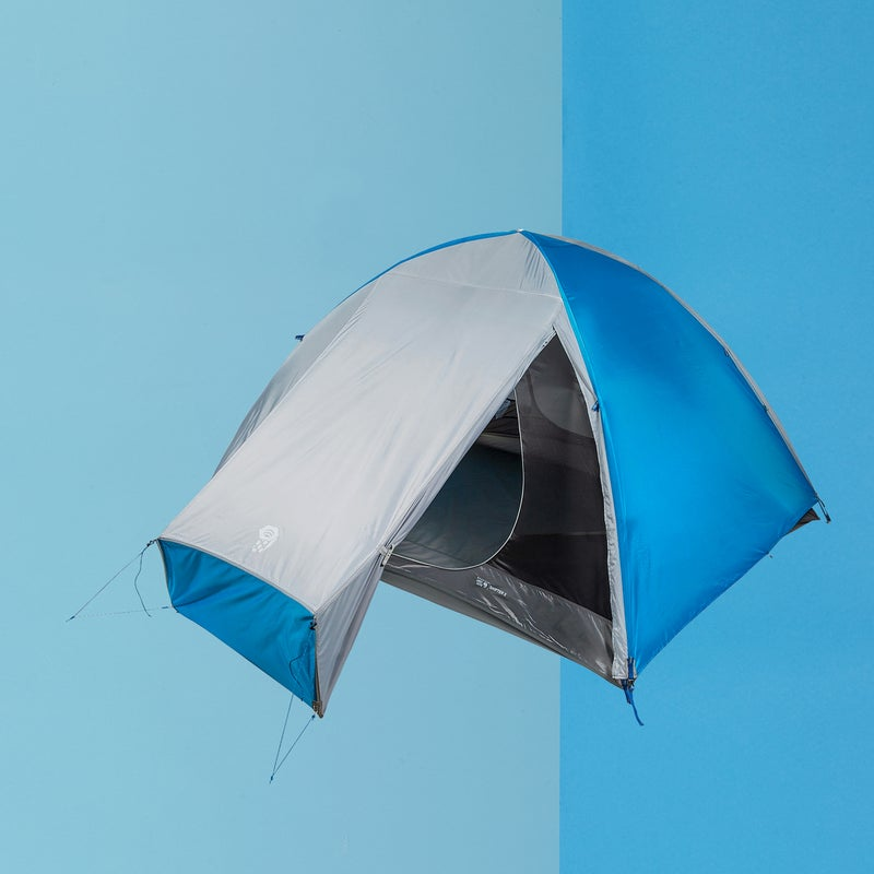 """Best For: Backpackers on a budget.   The Test: This tent ($199) is all about value and simplicity. It takes less than five minutes to set up the two-pole dome, casting plenty of room for two. Burly fabrics and an almost to-the-ground shape-shifting fly stood up to 30-mile-per-hour winds with barely a flutter. And while the weight won't win you any bragging rights, it won't break your back, either. Our only beef: while the two vestibules are plenty roomy, the doors are a bit small. Still, """"It's the tent I'll be using right up until it snows,"""" says a smitten mountaineer. """"It's nearly perfect.""""   The Verdict: No carbon-fiber stakes or fancy fabrics, just a solid tent and a screaming deal. 4.9 lbs; mountainhardwear.com   Livability: 4  Sturdiness: 4.5"""