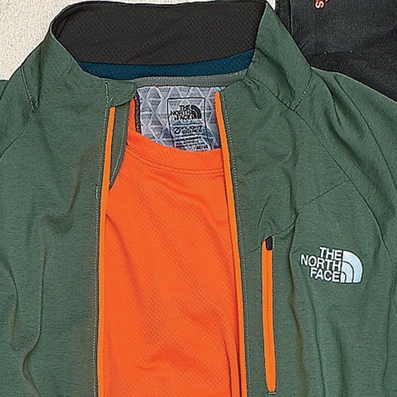 Soft polyester, welded seams, and rapid-dry panels on the back and under the pits make this our new favorite next-to-skin layer ($50). thenorthface.com