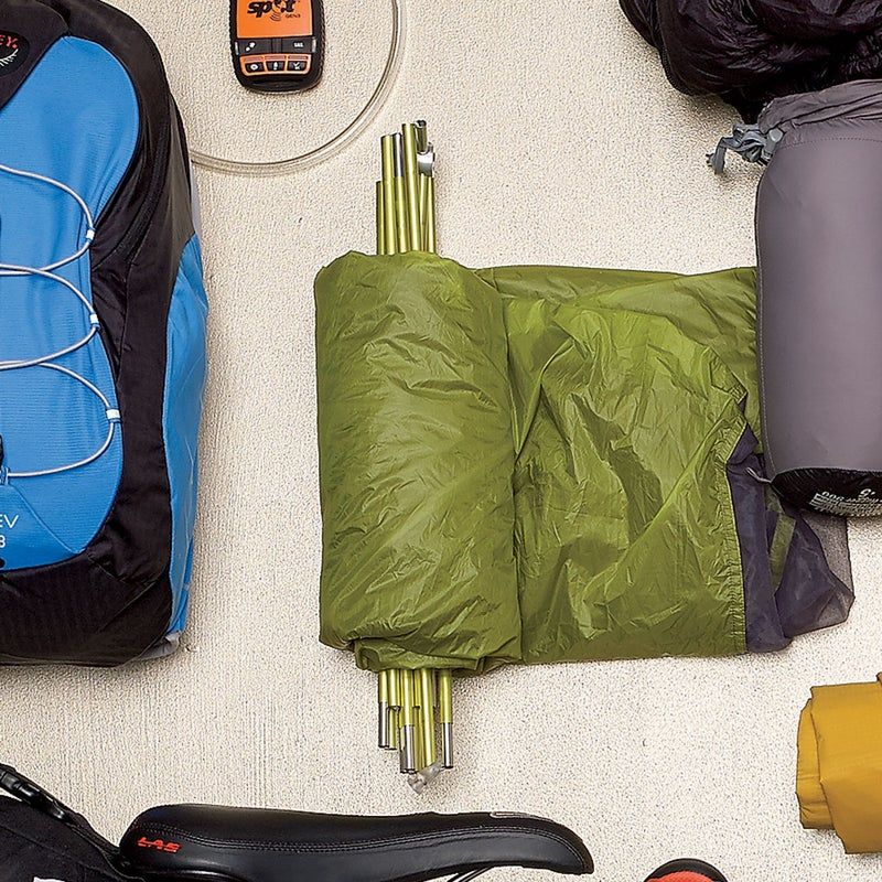 An engineering miracle, this tent ($550) packs down to the size of a Nalgene bottle, yet it sleeps two adults, with space in the vestibule for gear. And we stayed happily dry when the weather got nasty. bigagnes.com