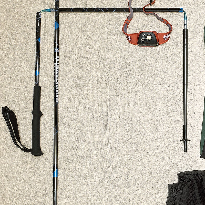 For stream crossings, talus traverses, and other challenging terrain, these ten-ounce collapsible poles ($160) are a godsend. The rest of the time, they're so incredibly light that you'll hardly notice that they're stashed in your pack. blackdiamondequipment.com
