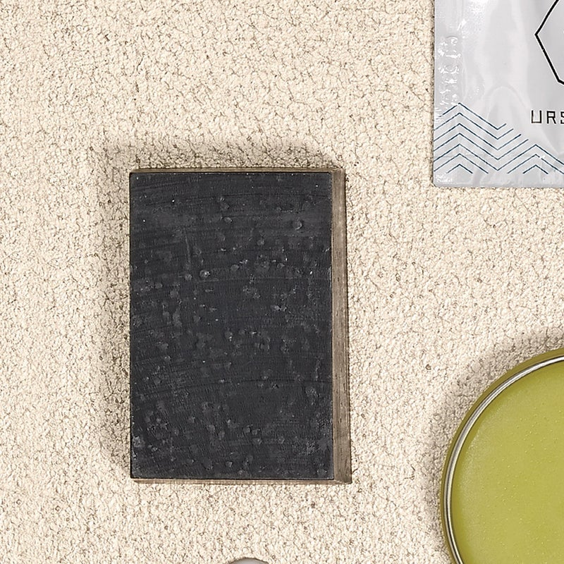 Activated bamboo charcoal sucks up bacteria, toxins, and microparticles without absorbing into the skin. $10, herbivorebotanicals.com