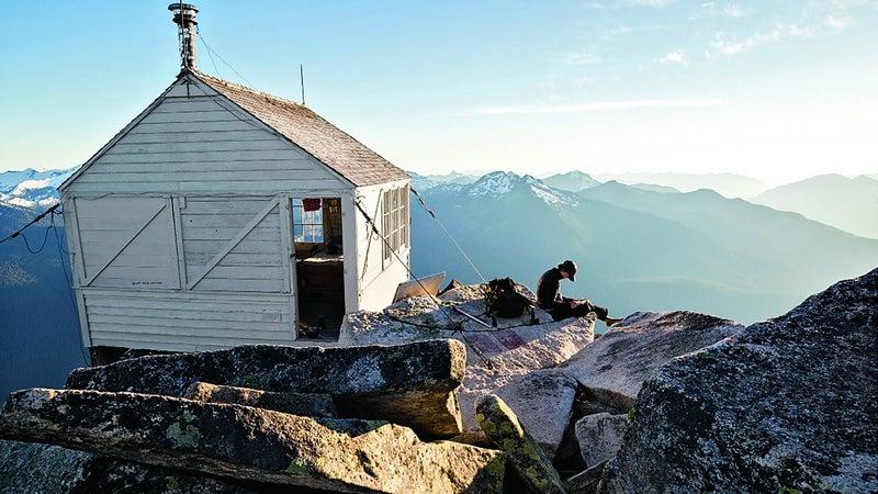 Hidden Lake Lookout, North Cascades.