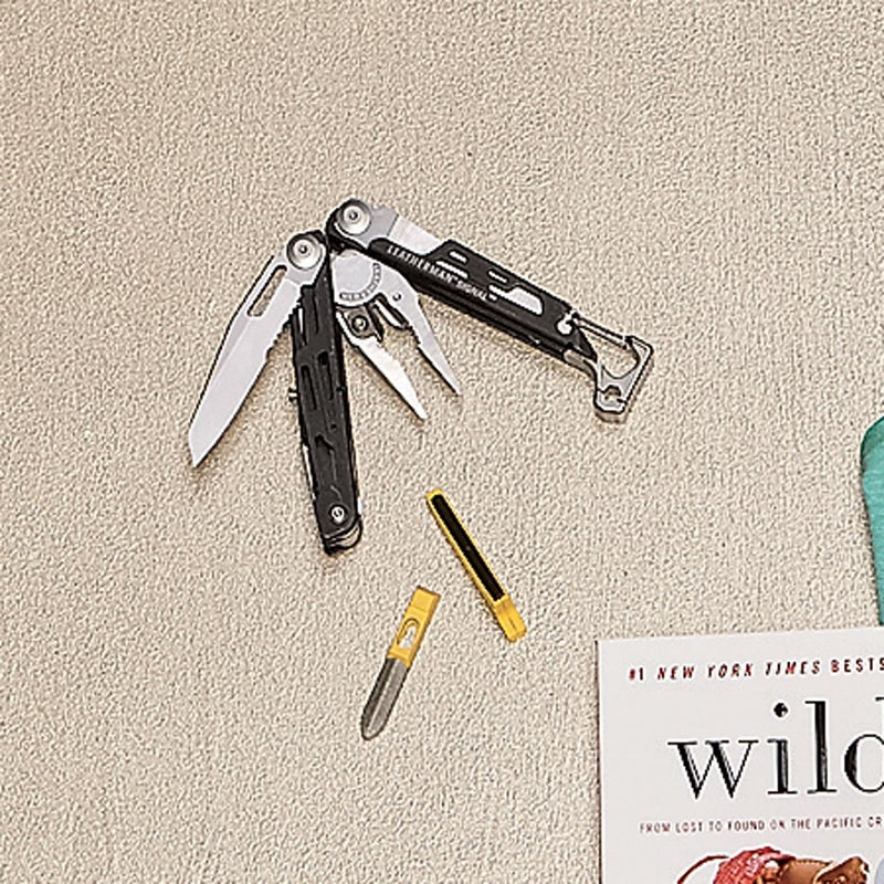 Leatherman's 7.5- ounce Signal ($120) houses all the tools you'd expect—saw, pliers, bottle opener—plus a few you wouldn't (emergency whistle!). The diamond-coated sharpener and fire-starting ferro rod might seem like overkill, but you never know. leatherman.com