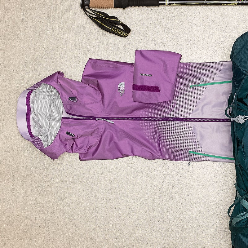 It's hard to combine moisture resistance, breathability, and durability into an ultralight shell, but the Matrix ($199) does it thanks to new FuseForm technology, which weaves two waterproof fabrics together for protection from rubbing pack straps. Fewer taped seams means less clamminess. thenorthface.com
