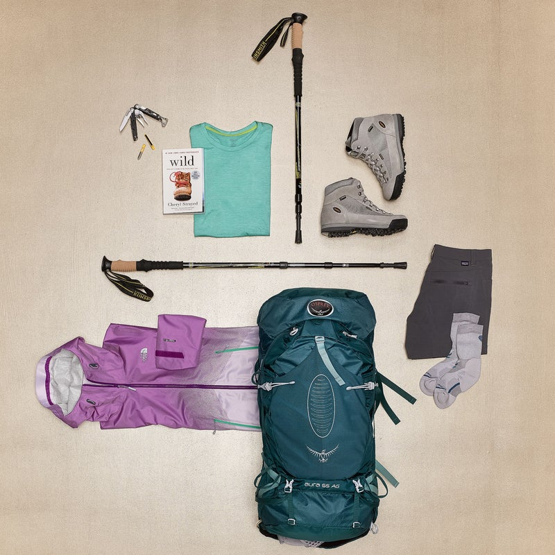 Gear for the long haul.—Whitney Spivey