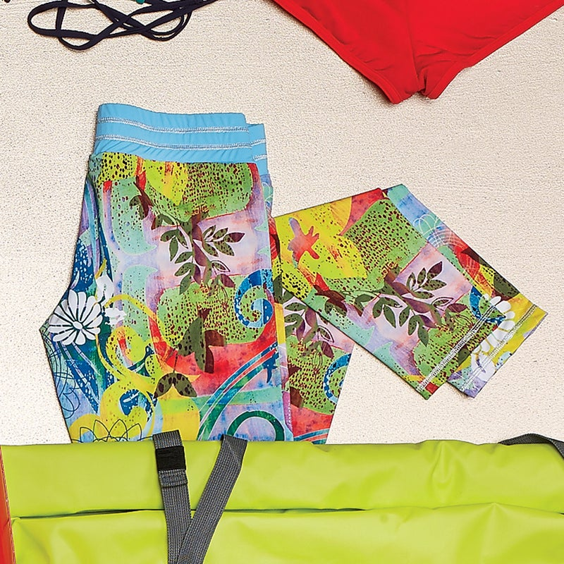 The Emalias ($84) feature a comfortably wide elastic waistband, to ensure they won't come flying off in a wipeout, and are versatile enough to go from board to beachfront bar. dakine.com