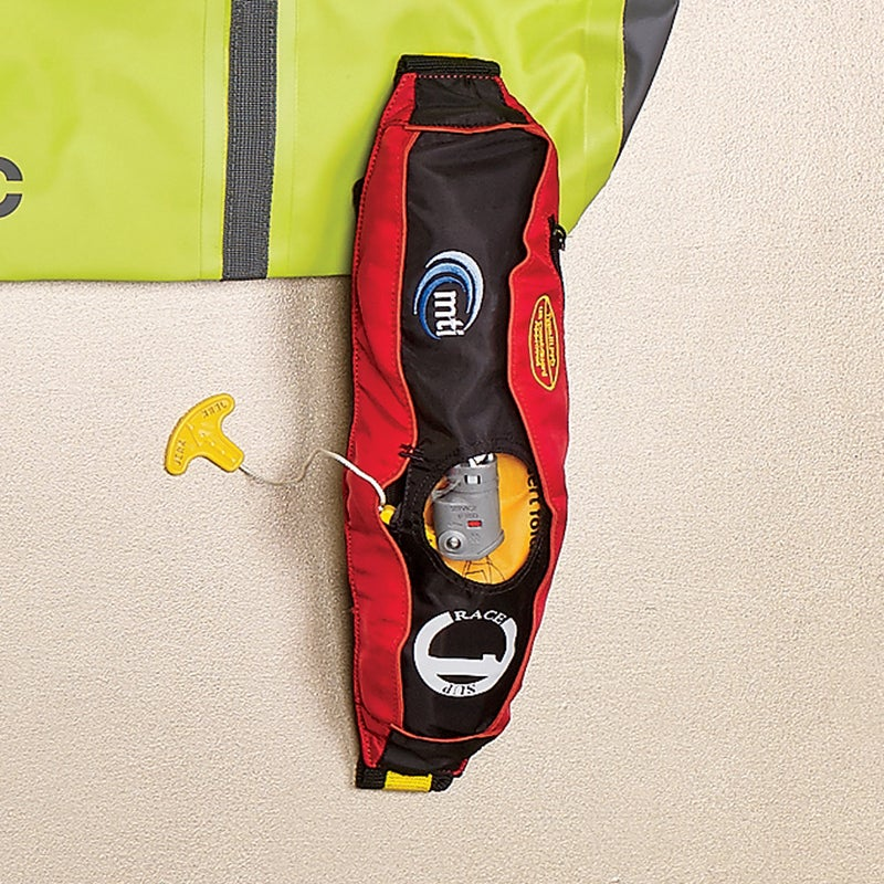 A Coast Guard–approved flotation device is mandatory unless you're surfing. The Fluid ($135) has a zippered pocket on the top lid for necessities, plus attachment points for bringing a water bottle on long excursions. mtiadventurewear.com