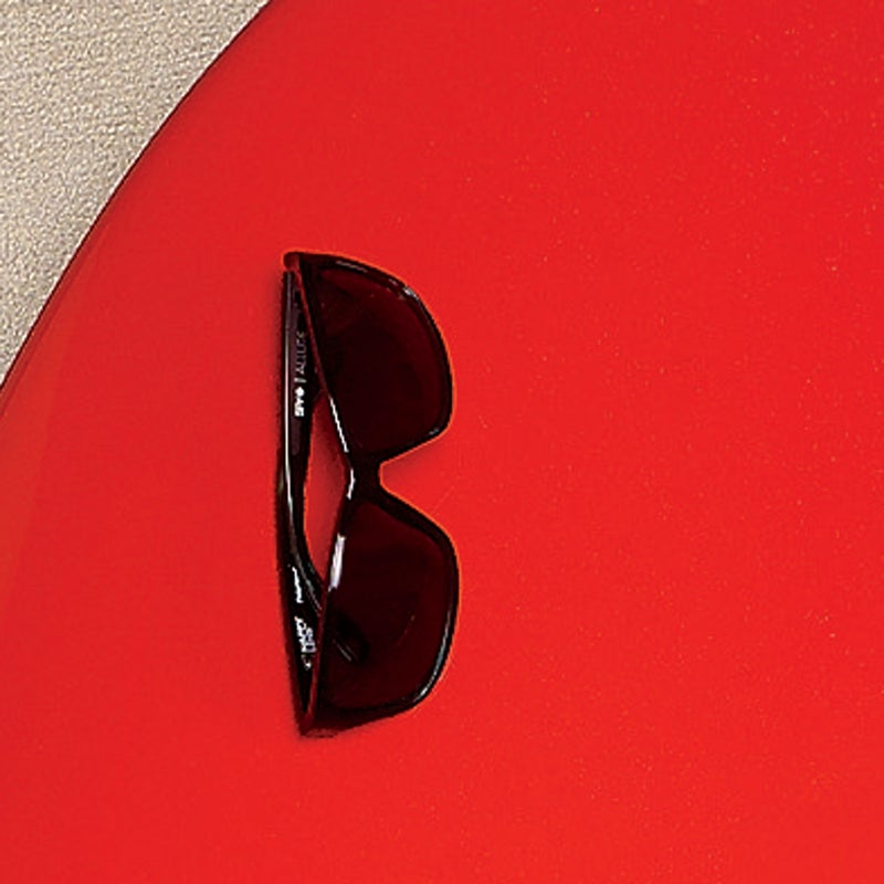 The lenses on these polarized shades ($130) maximize the transmission of good rays, boosting clarity and color contrast while (Spy claims) improving your mood and alertness. spyoptic.com