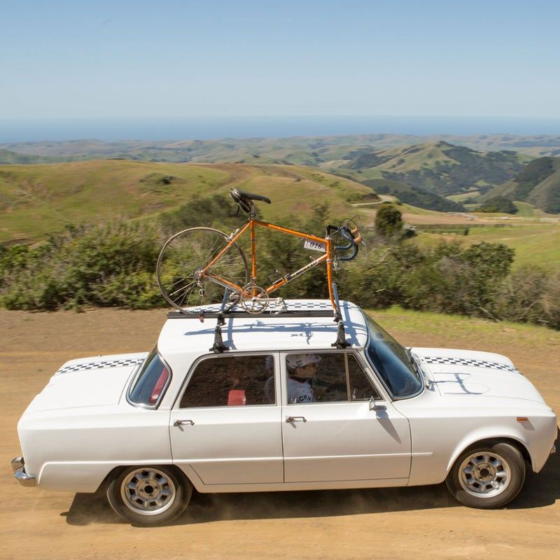 """Paso Robles is known for wine and for horses, and the course snaked through an eerily Tuscan-looking landscape of vineyards and ranches. In Italy, L'Eroica was in part founded as an attempt to save the famous gravel """"white roads,"""" many of which were being converted to pavement."""
