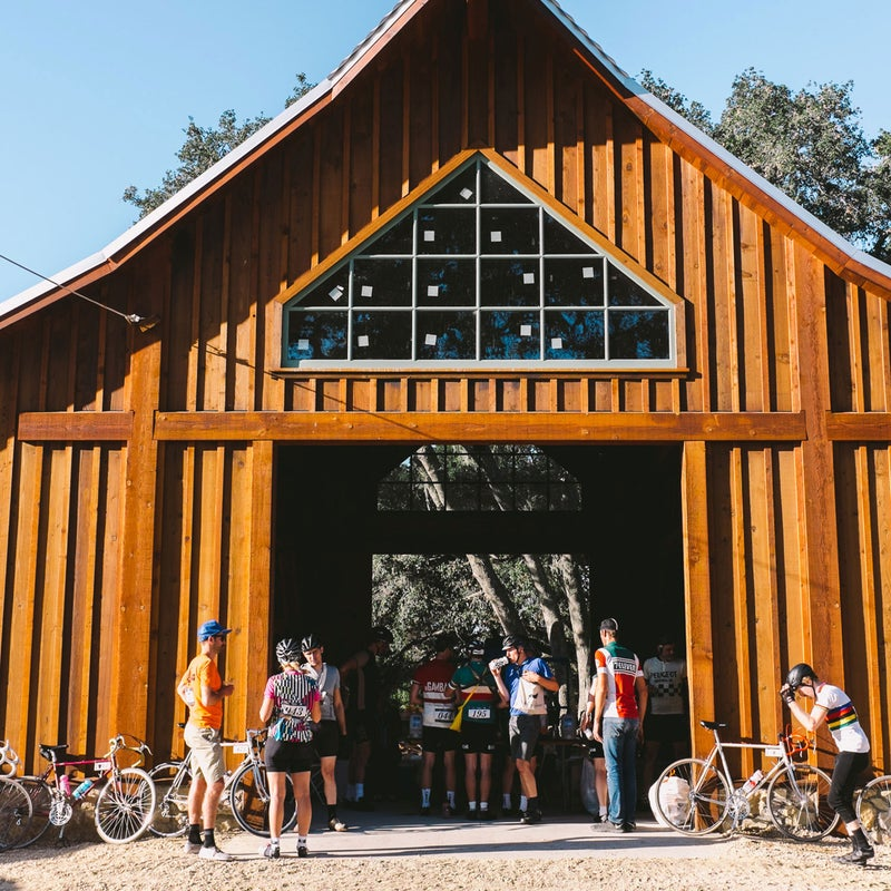 """One Eroica staple are the rest stops. Rather than exotic drink mixes and strange energy gels, """"real"""" food—everything from ribbolita stew to figs and cheese—is on the menu.  California put its own twist on things, with breakfast burritos, smoothies, and pizza."""