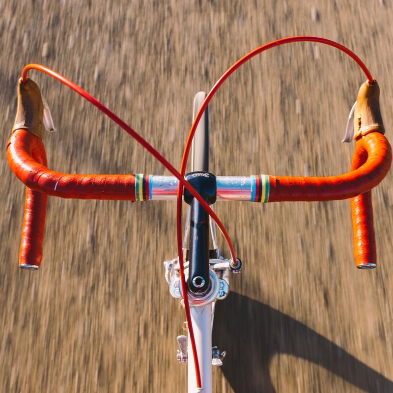 Many of the riders I rode with admitted that the bikes they were on were older than they were. But even I, having grown up with down-tube shifting, kept feeling my fingers twitch, like phantom limbs, for the shifters near the brake hoods. Muscle memory dies hard.