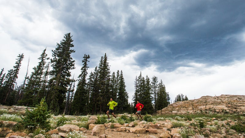 Jason and Andrew Dorais, High Uinta Mountains, UT
