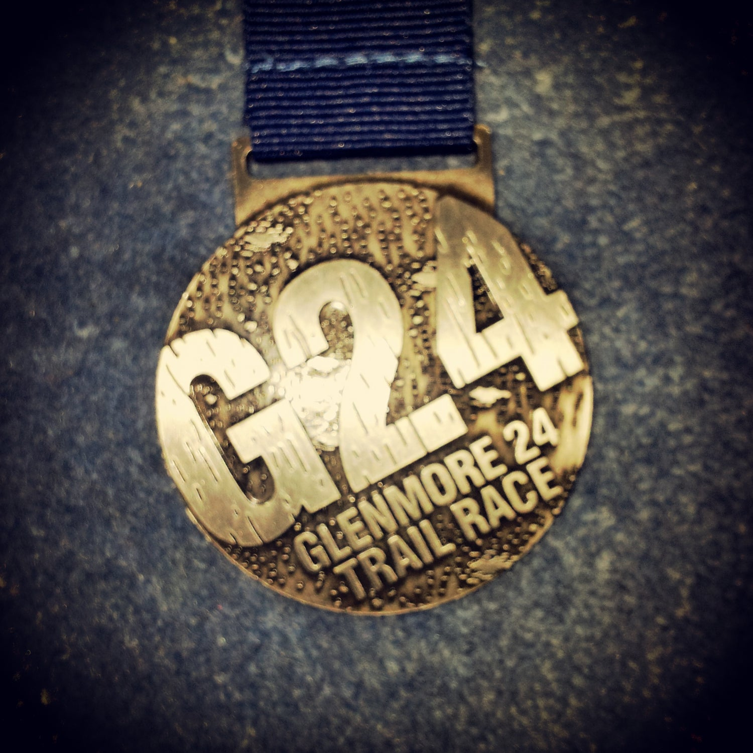 Williams: I took part in the 12-hour race, but again, the simplicity of this medal with the rugged terrain of the trails reminds me of a race that I absolutely loved for the atmosphere. There is a themed party the night before, most of the competitors camp the night before and after, and the volunteers even sing for you at the water station! Although this is the race that broke me, I still love it—and the medal.