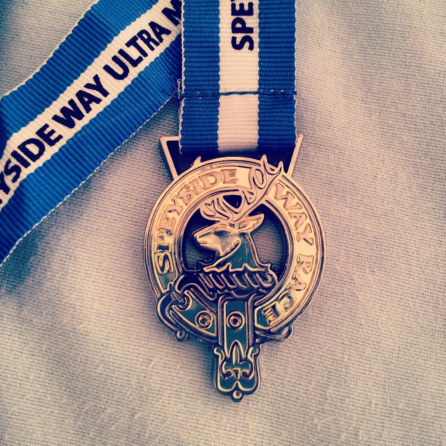 """Williams: 36.5 miles. Simple. Chunky. Nice. A race nestled in beautiful scenery with a suitably """"traily"""" medal."""