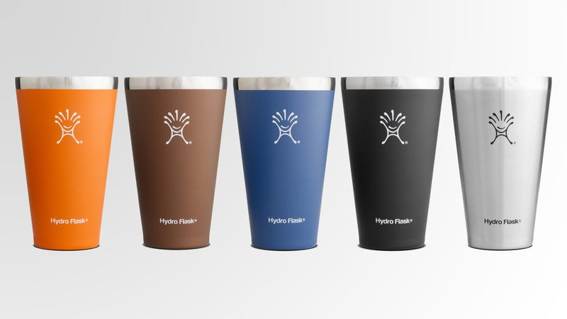 The Hydro Flask True Pint is vacuum-insulated to keep beer cold to the last drop.