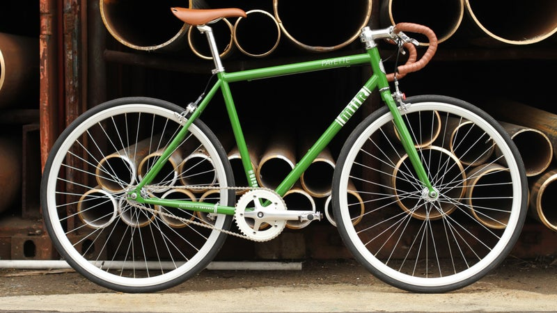 Miir donates a bike to someone in need with every Payette sold.