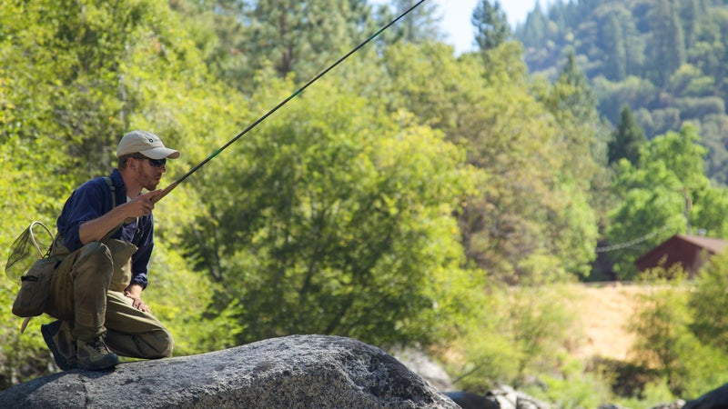 The Tenkara USA Sato Kit contains everything you need to catch fish in a small, ultralight package.