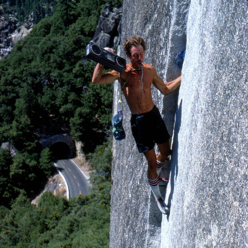 """The 1960s was the Wild West era of climbing in Yosemite and, through historic photos, press clippings, and video footage, Valley Uprising documents those days. These were the years of climbing's renaissance in the valley, when Royal Robbins, Yvon Chouinard, and Tom Frost solidified their status as legends. """"None of us expected to have jobs,"""" Chouinard says in the film. """"We were going to be hoboes and climb forever.""""  Watch the trailer."""