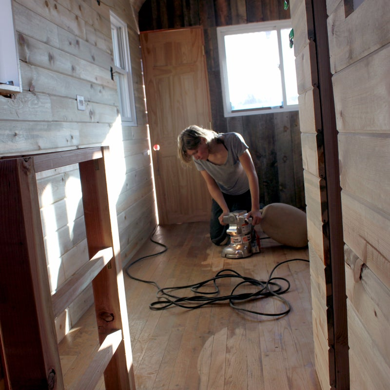 Tiny houses also require fewer building materials than their full-size counterparts. This makes it easy to get enough reclaimed wood (like beetle-kill boards), metal, and other materials to build the entire structure.