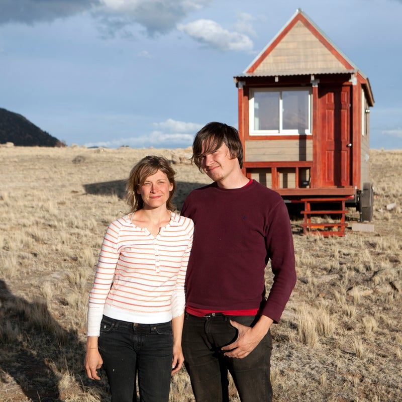 """When filmmakers Christopher Smith and Merete Mueller set out to build a tiny house for the 2013 documentary Tiny: A Story About Living Small, they had no idea what they were doing. """"We were new to construction,"""" says Smith. """"The house turned out great, but there are definitely things I wish we would have known going into it."""" The couple learned so much during the process that they ended up publishing a 101-page ebook.We caught up Smith and Mueller to better understand how their cozy 124-square-foot abode came together—and what you can learn from their mistakes."""