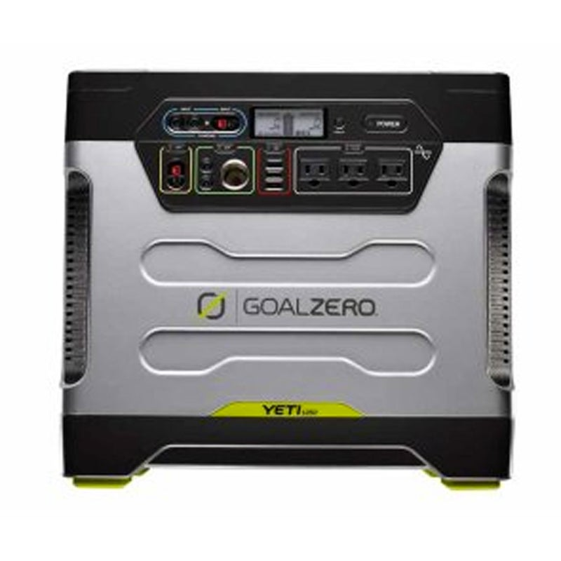 At $1,599, the Goal Zero Yeti is more expensive than my monthly mortgage payment, but this 103-pound solar-charging beast will take care of all your electrical needs. You could run an ice-cream business out of your truck with this thing (which is capable of producing 1,200 watt-hours of energy), and still have enough juice to keep beer cold in a fridge.