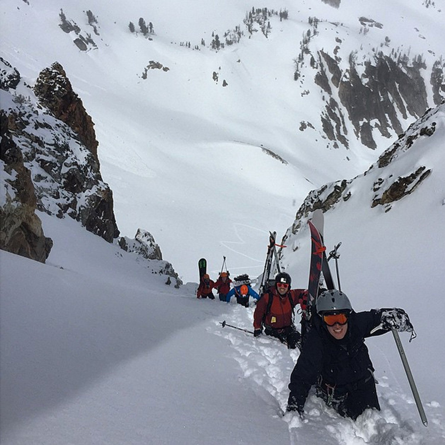 Another great Ski Mountaineering Camp is in the bag. Thanks guys! #skimountaineering