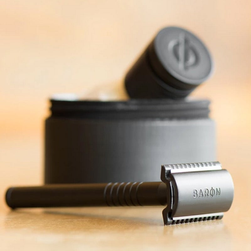 Everything old is new again: The good, old-fashioned safety razor—how men shaved before 20-bladed razors became the norm—is making a Kickstarter-funded comeback. Read more.