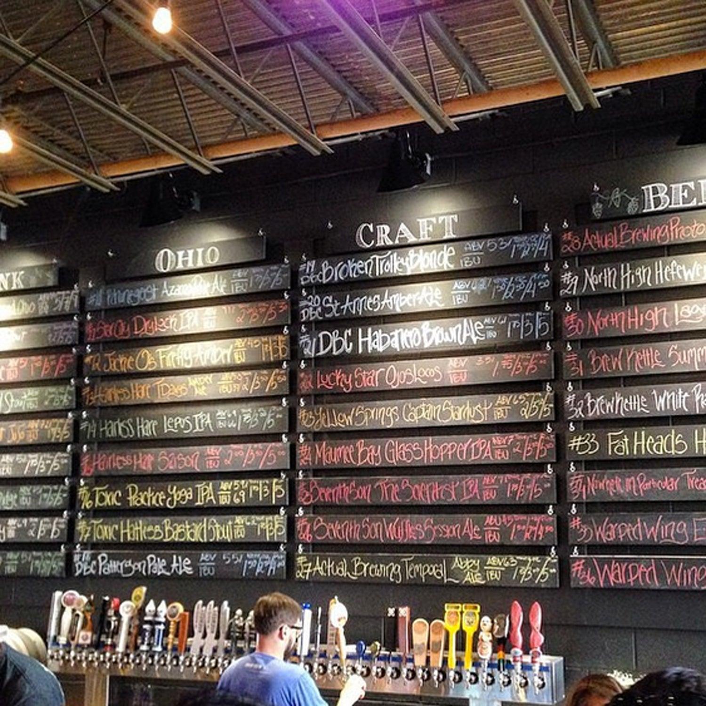 More Dayton beer! #dayton #Besttowns2015 #daytonbeercompany @warpedwing