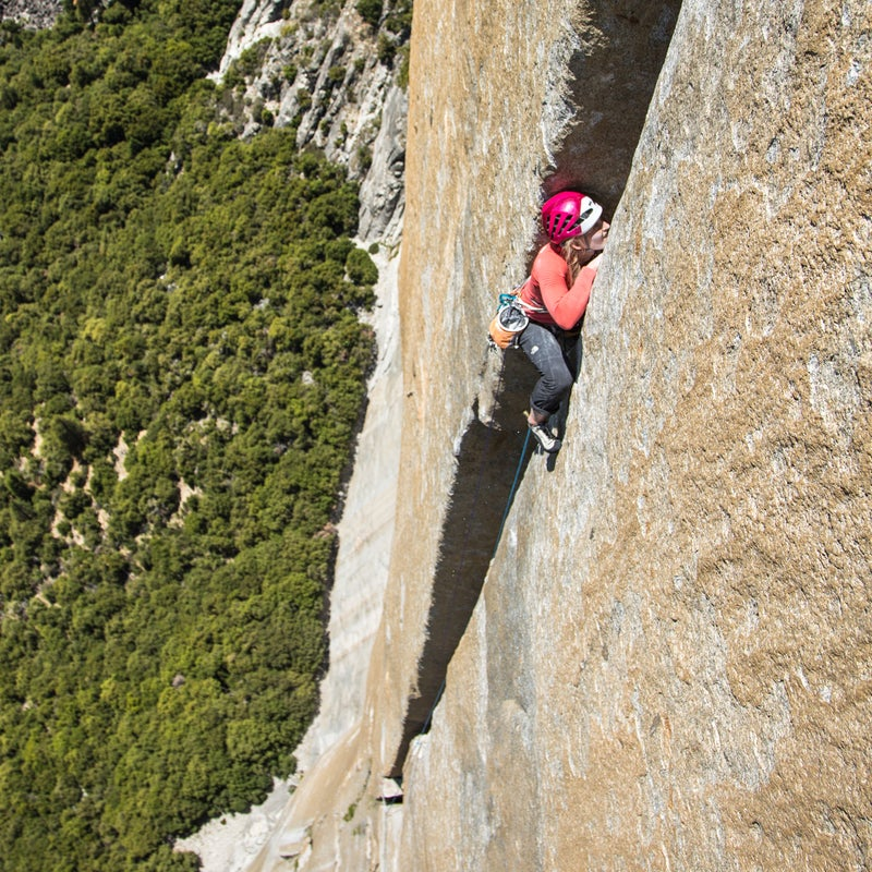 """For two-and-a-half hours I struggled my way up the """"Monster"""" inch by inch, fighting as hard as I could to stay in. It was honestly one of the biggest efforts I'd ever put forth on a single pitch of climbing."""
