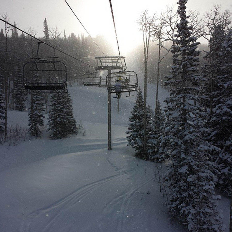 Park City Utah #BestTowns2015 #parkcity #snow #skiing #outsidemagazine #utahisforlovers #utahgram @canyonsresort @visitparkcity @pcski @deervalleyresort #winners