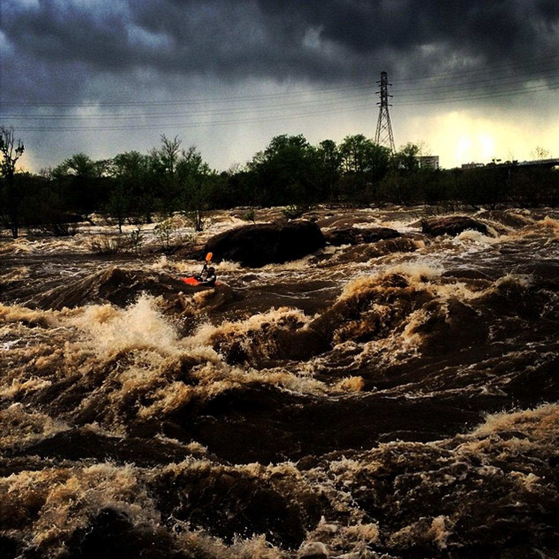 This is what #varsity kayaking looks like...