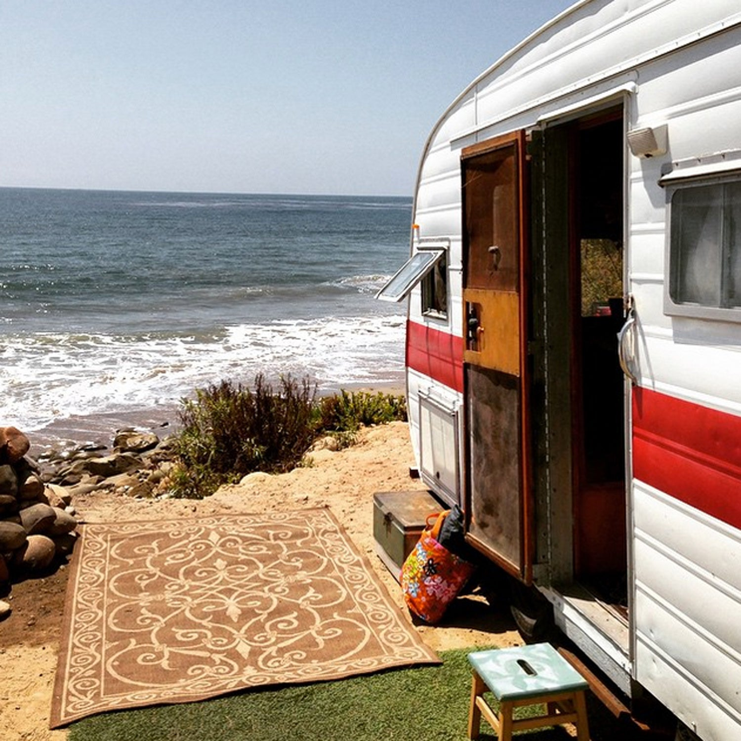 As the negative ions from the crashing waves lull me to sleep I travel to the farthest reaches of the cosmos. #BestTowns2015 #VenturaCa #Ventura #CityofVentura #beach #camping