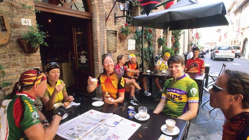 Cinghiale Cycling Tours' trip through Tuscany includes wine tastings and cooking lessons.