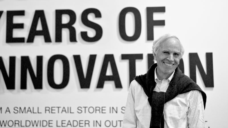 Doug Tompkins founded The North Face in 1968.