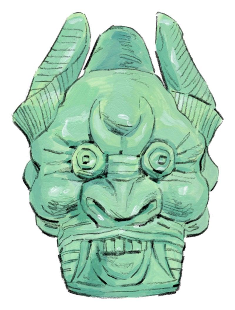 Treasure mask