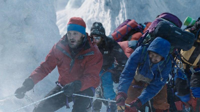Jason Clarke in 'Everest'.