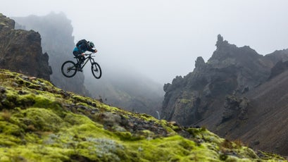 Ashes to Agassiz was the first professional mountain biking film to be shot in Iceland.