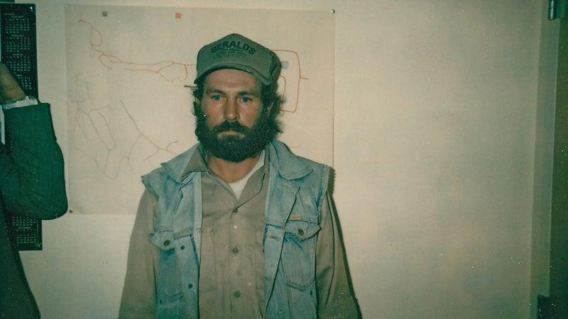 Paul David Crews after his capture.