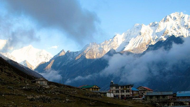 Langtang Valley in October 2012.