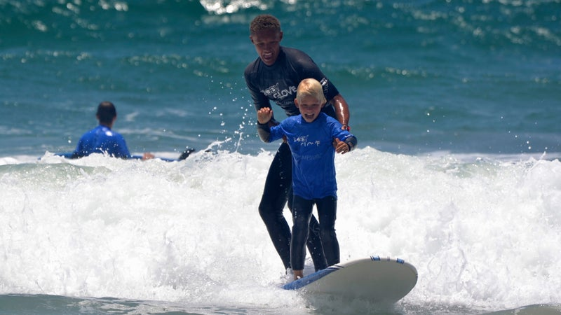 Camp Surf in Los Angeles
